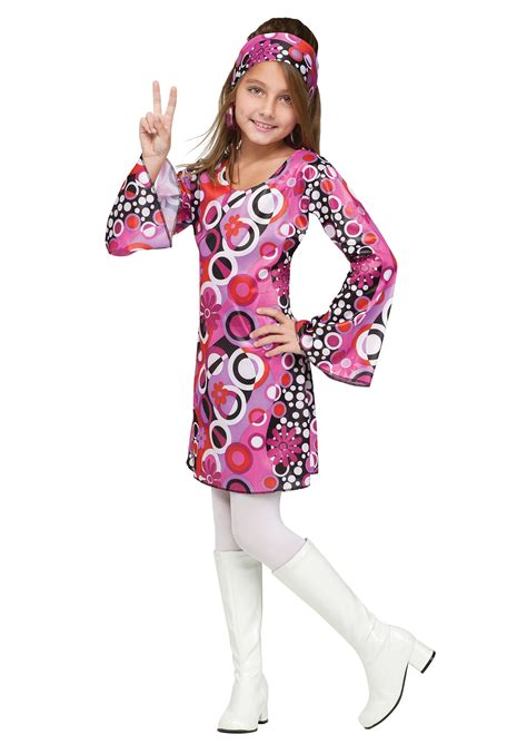 costumes kids costumes kids disco hippie costumes new 2014 costumes child feelin groovy costume