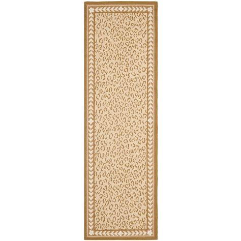 2 x 12 rug runner safavieh chelsea ivory 2 ft 6 in x 12 ft rug runner hk15b 212 the home depot