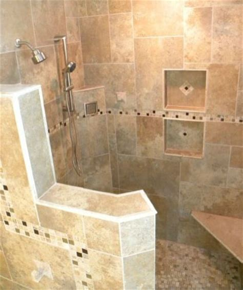 incredible doorless walk showers  home design