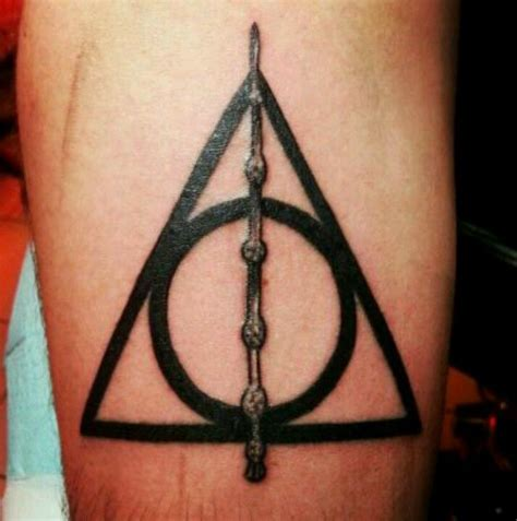 deathly hallows symbol tattoo deathly hallows designs ideas and meaning