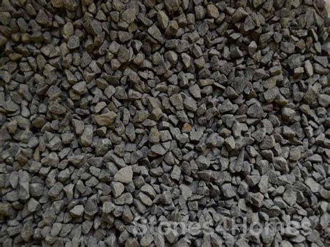 Decorative Gravel Suppliers Black Basalt 10mm Gravel Chippings Charcoal Driveway