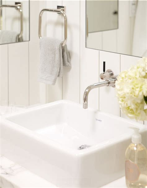 Rasmussen Plumbing by Small Cottage With Neutral Interiors Home Bunch Interior