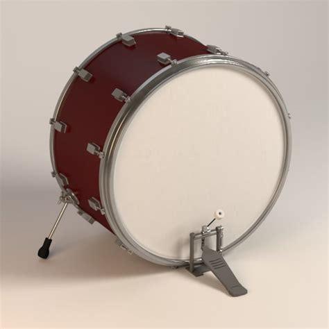 Kaos 3d Umakuka Bass Peddal bass drum pedal 3d model