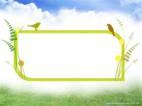 Free Animated Clipart Birds Backgrounds For Powerpoint Animated Ppt Templates Animated Powerpoint Template