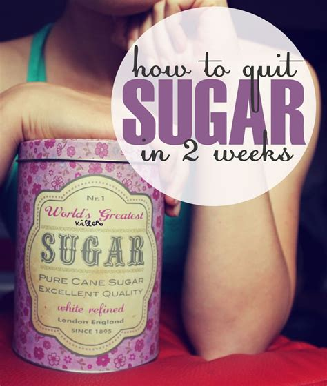 Detox In Two Weeks by Giving Up Sugar Study How I Quit Sugar In 2 Weeks