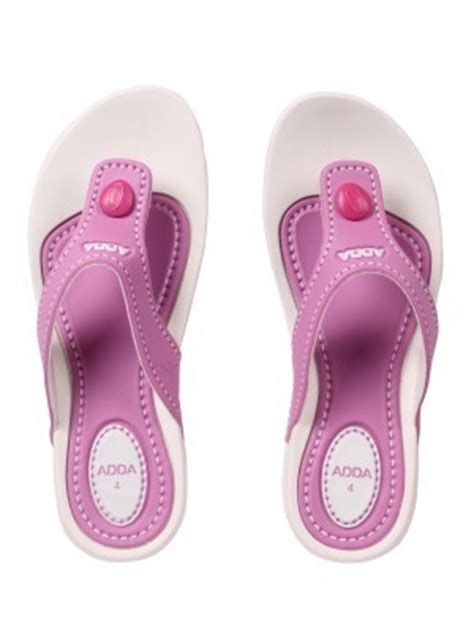 Bedroom Slippers Shopping India Slippers Buy Adda White Pink Slipper The Jfstudio