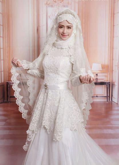Dress Pesta High Class model kebaya muslim modern terbaru yang trendy gebeet