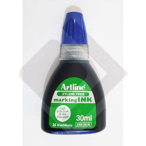 Tinta Artline Wladhe Tinta Para Marcador Artline Permanente Azul