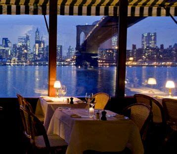 river cafe in brooklyn! best view of manhattan. | food
