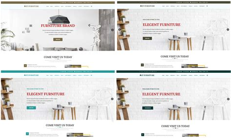Et Furniture Free Responsive Furniture Website Templates Furniture Website Templates Free