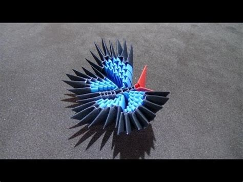 How To Make 3d Origami Butterfly - how to make a 3d origami butterfly