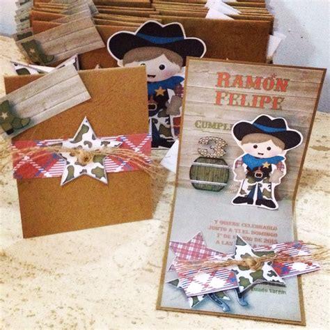imagenes de cumpleaños vaquero invitaciones de cumplea 241 os para una fiesta de vaqueros