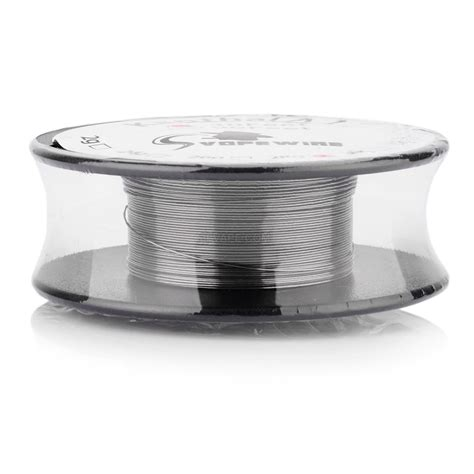 Rebuildable Vaporizer Flat Wire Length 1 Meter authentic vape wire silver kanthal a1 28 awg resistance wire