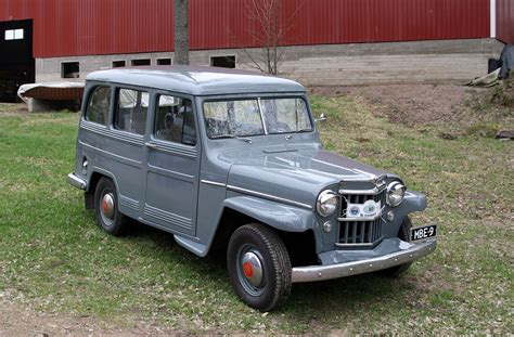 jeep station wagon 1955 willys station wagon jeep enthusiast