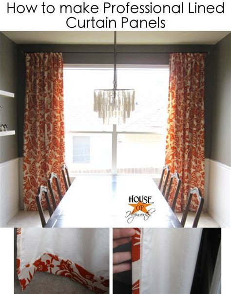 how to sew a curtain panel curtains how to make and curtain panels on pinterest