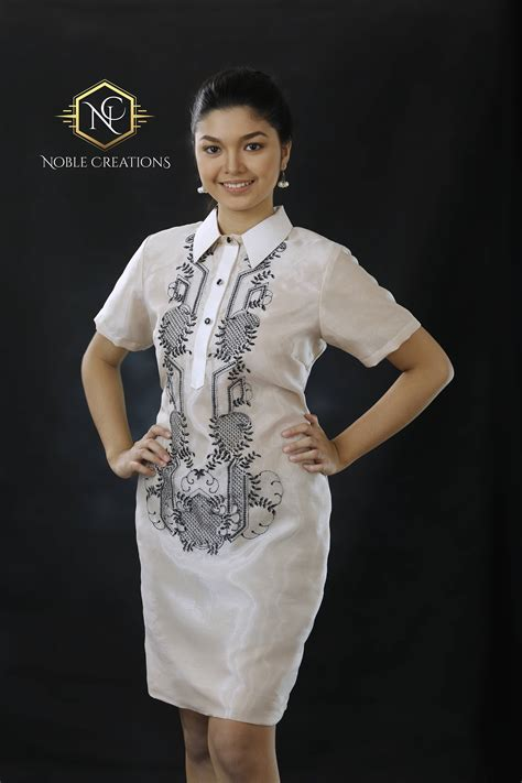 modern dress design modern filipiniana dress silk barong tagalog philippine