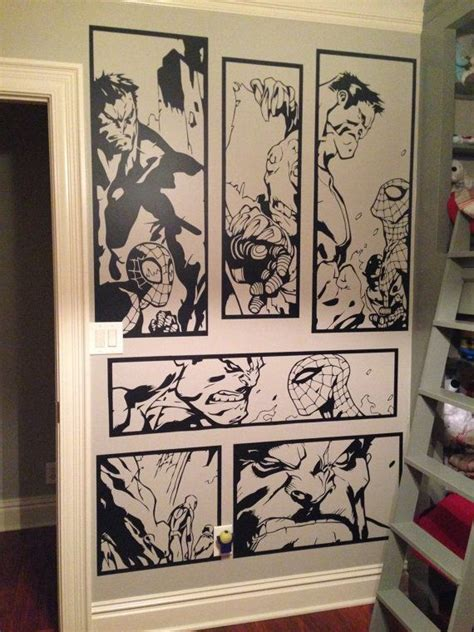 comic book themed living room 25 best ideas about vinyl wall on custom wall stickers mural ideas and wall
