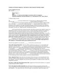 Wheelchair Letter Of Medical Necessity Template Sample Letter Of Medical Necessity Frank Mobility Systems