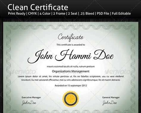 certificate psd template 25 most popular certificate diploma templates 2014