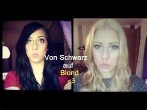 haarfarben entferner vorher nachher schwarz auf blond haare pflegeprodukte nach dem