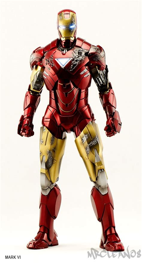 iron man mark vi scale collectible figure hot toys