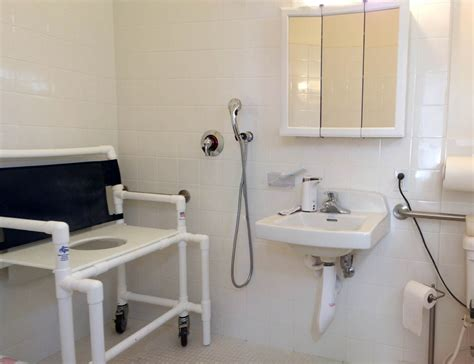 Assisted Bathroom Layout by What Can We Do About Assisted Living Disabled