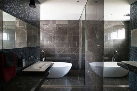 Pietra grey marble bathroom with stunning bathroom furniture contemporary bathroom other