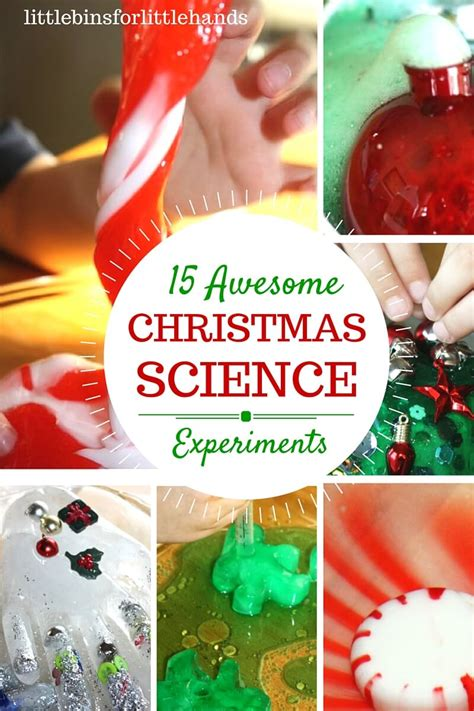 best christmas activities science activities and experiments for