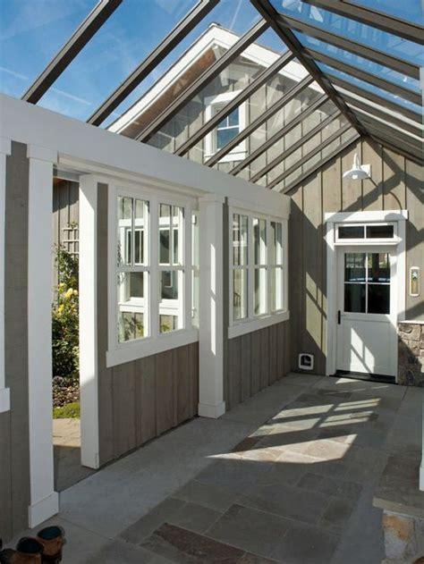 Detached Garage With Loft by Enclosed Garage Breezeway Home Design Ideas Pictures