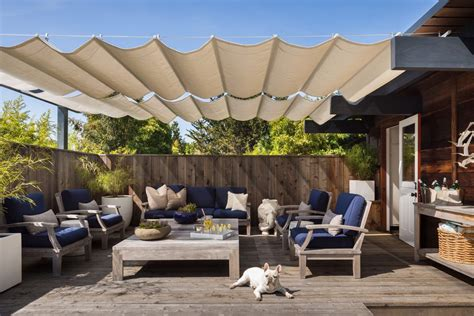 Canvas Patio Furniture Covers Fabulous Canvas Patio Covers Deck Midcentury With Fence