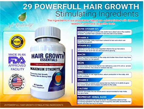 hair essentials before and after vie naturelle hair growth essential supplement can this
