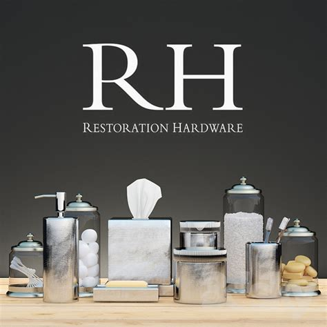 restoration hardware bathroom accessories 3d models bathroom accessories bath decor restoration