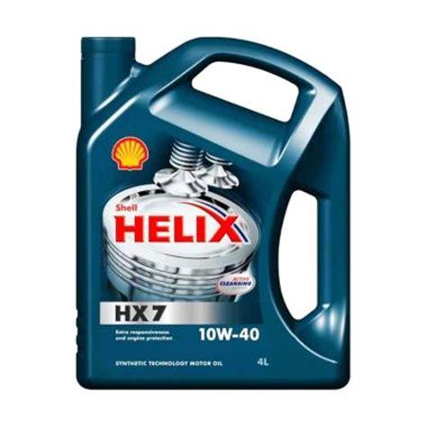 Paket Oli Mesin Avanza Shell Hx7 10w 40 4 Liter Filter Oli Redex daftar harga shell terbaru maret 2017 lengkap daftarharga biz