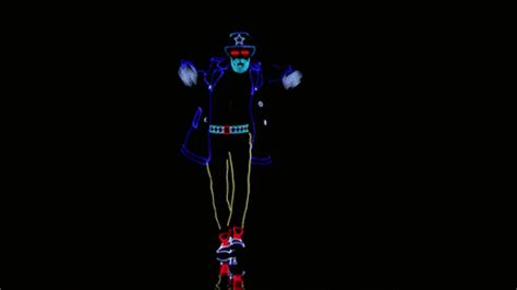 america s got talent light balance light balance dancers light up the stage and earn the