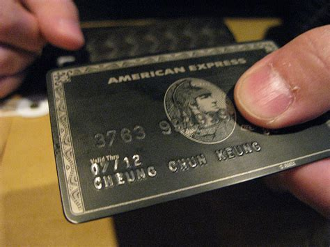 Black Cards - the about the american express centurion card