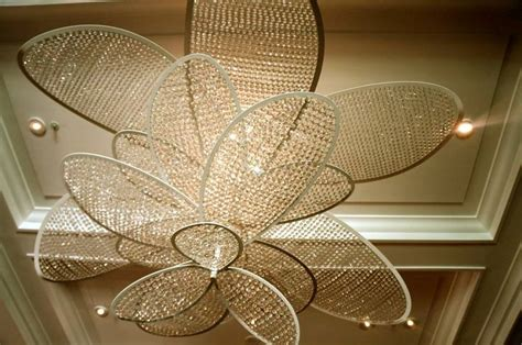 beautiful ceiling fans beautiful ceiling fan made out of individual crystals