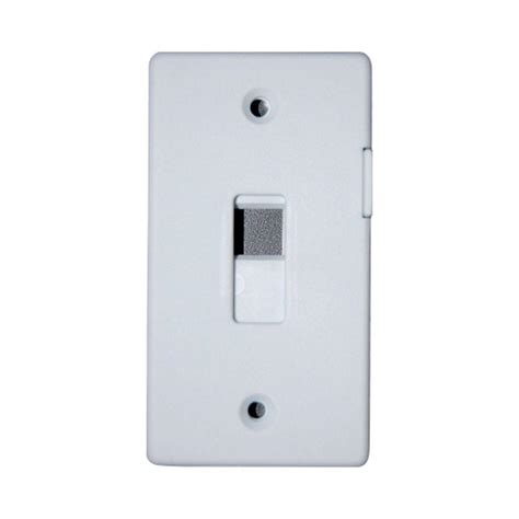 light switch lock home depot adamax switch lock plate white slgwh the home depot