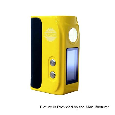 Tc Vooc Flash Charger Mini Murah authentic alphafox mini bolt 52w yellow zinc alloy 18500 tc vw mod