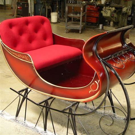 sleigh bench seat santa s sleigh barrango mfg