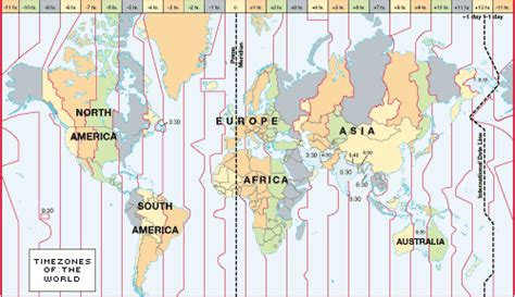 map of usa showing different time zones world time zones and time zone map