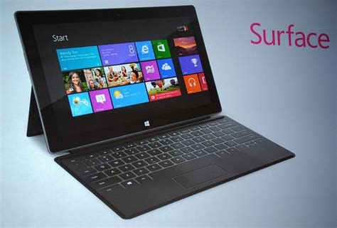Komputer Tablet Microsoft Surface microsoft surface and surface pro tablet pc look