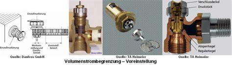 Fußbodenheizung Ventile öffnen by Voreinstellung Thermostatventil Shkwissen