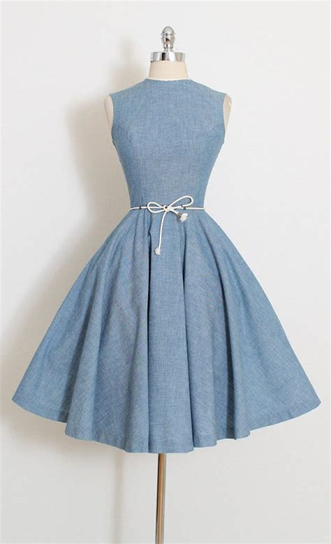 Dress Vintage 25 best ideas about denim dresses on