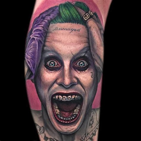 joker tattoo portsmouth review 12 tormenting jared leto joker tattoos tattoodo