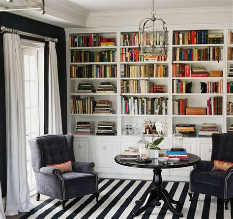 library built in bookshelves built in bookshelves contemporary den library office diane bergeron interiors