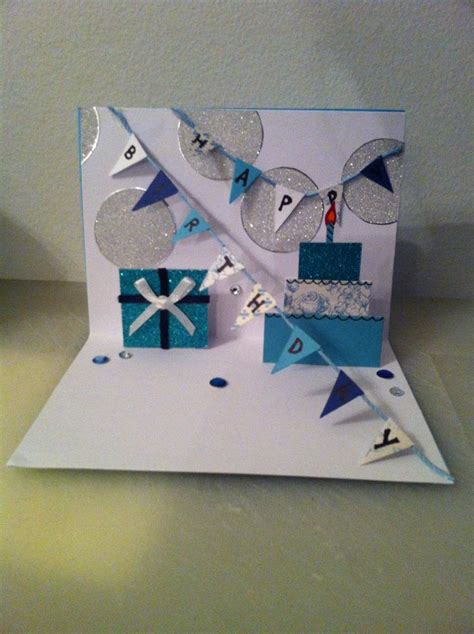 How To Make A Cool Birthday Card Out Of Paper - 22 best images about cards on