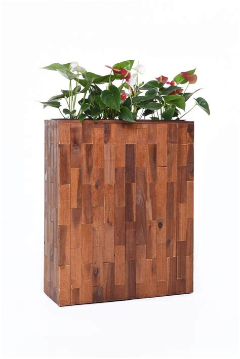 Raumteiler Aus Holz by Pflanzk 252 Bel Raumteiler Quot Elemento Quot Aus Holz Akazie 75x60x23
