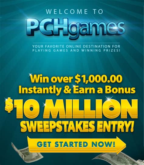 Our Instant Win - instant win games galore and more at the new pchgames pch playandwin blog