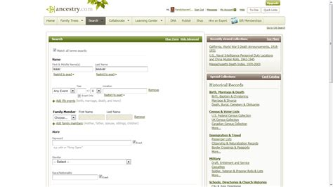 Search Ancestry Genea Musings Navigating And New Search On Ancestry Post 1 New Search