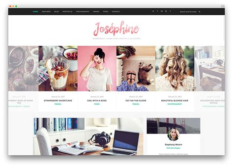 best designed blog 40 best personal blog wordpress themes 2018 colorlib